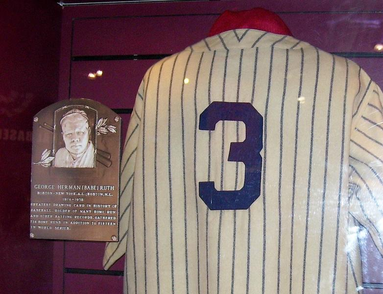 picture of babe ruth hall of fame shrine