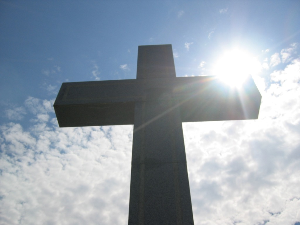 photo of a cross