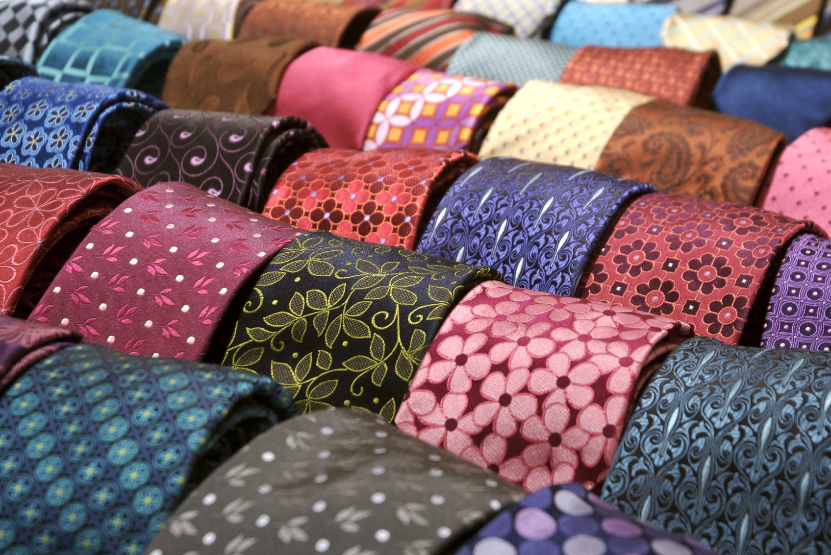 photo of various neckties