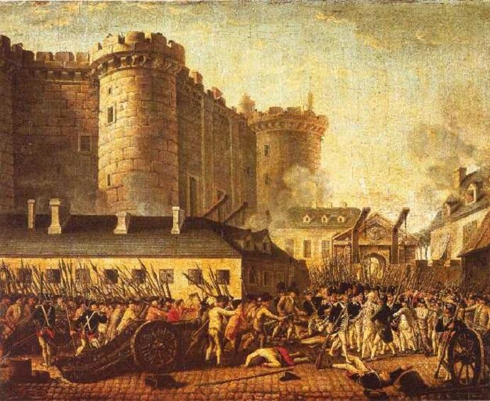 picture of bastille