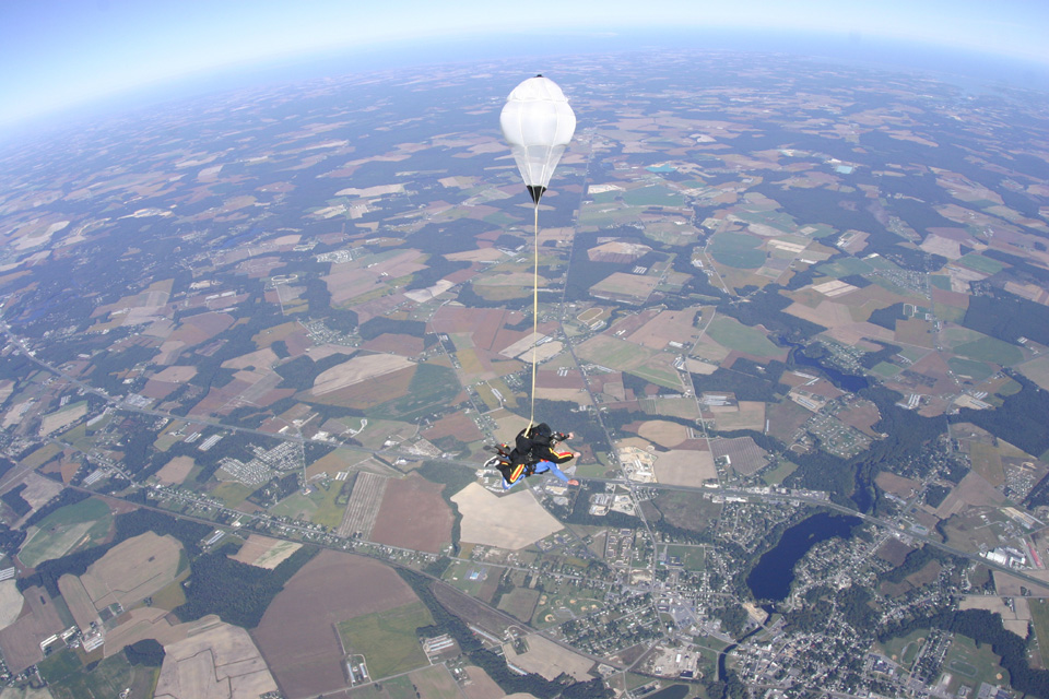 photo of parachute