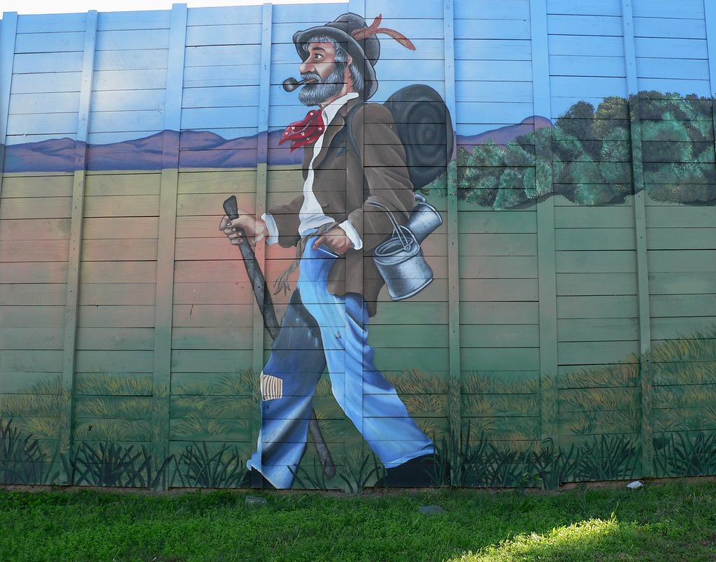 waltz mural