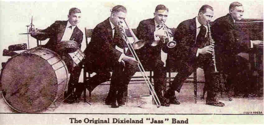 The original dixieland band photo