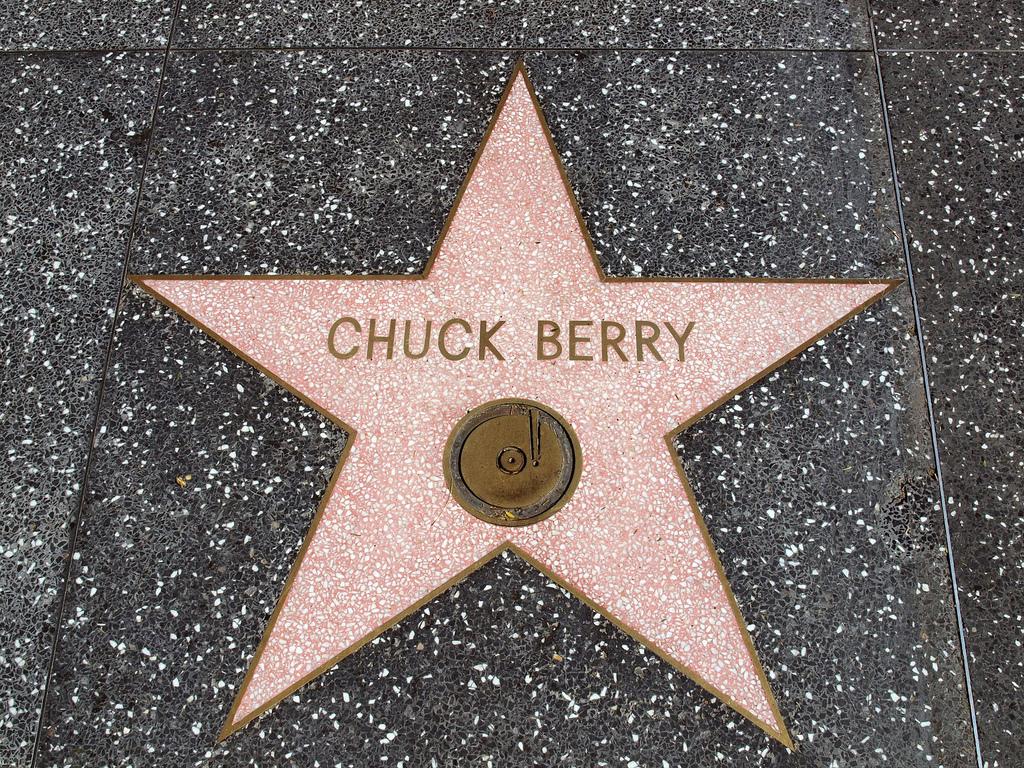 chuck berry star