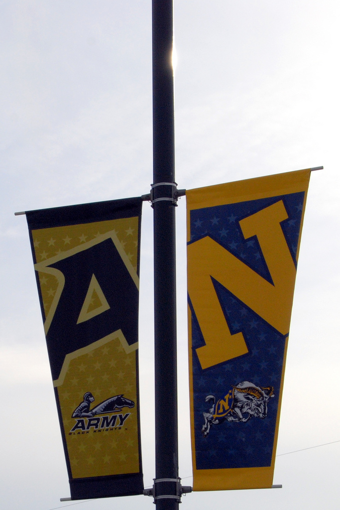 army navy banners
