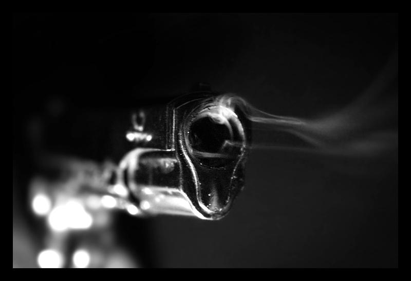 smoking gun photo