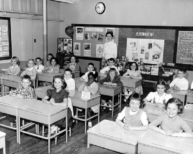 photo of classroom of kids