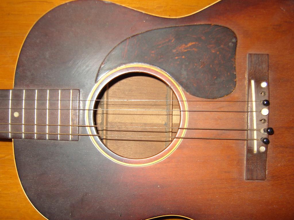 photo of guitar