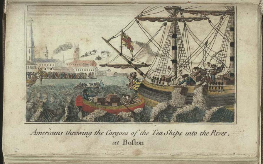 boston tea party picture