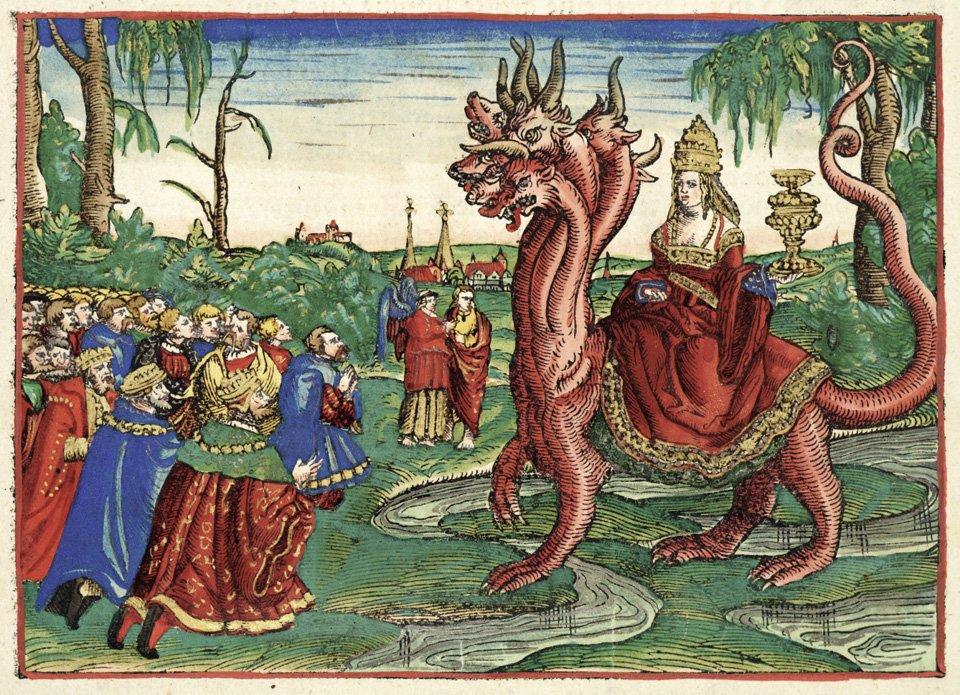 Apocalypse Art and Cinema - Whore babylon luther bible 1534