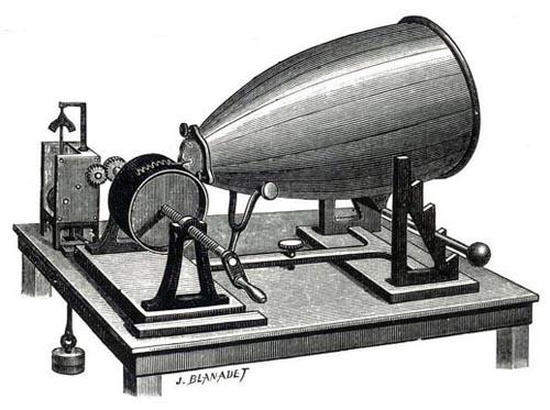 Phonograph History - Phonautograph