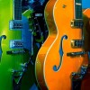 Colorful Guitars by Raul! on Flickr