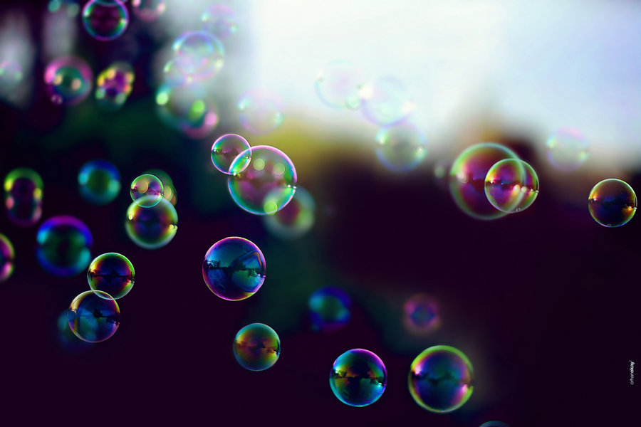 photo of bubbles