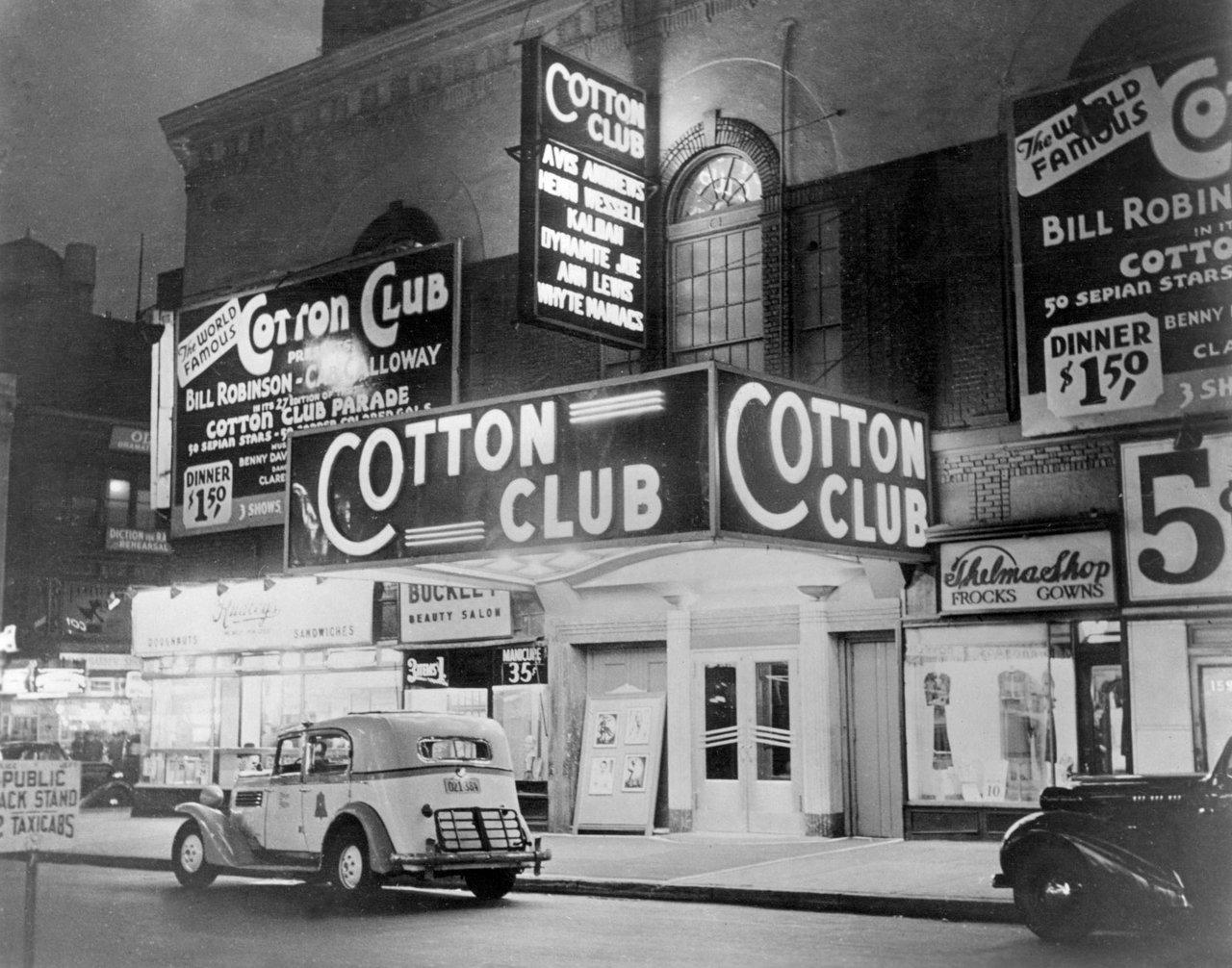 cotton club photo