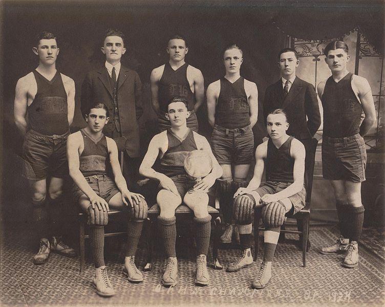 photo of basketball team