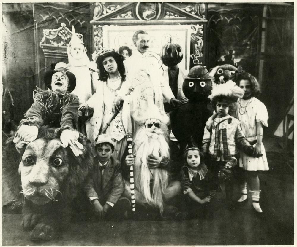 photo of Fairylogue and Radio-Plays cast