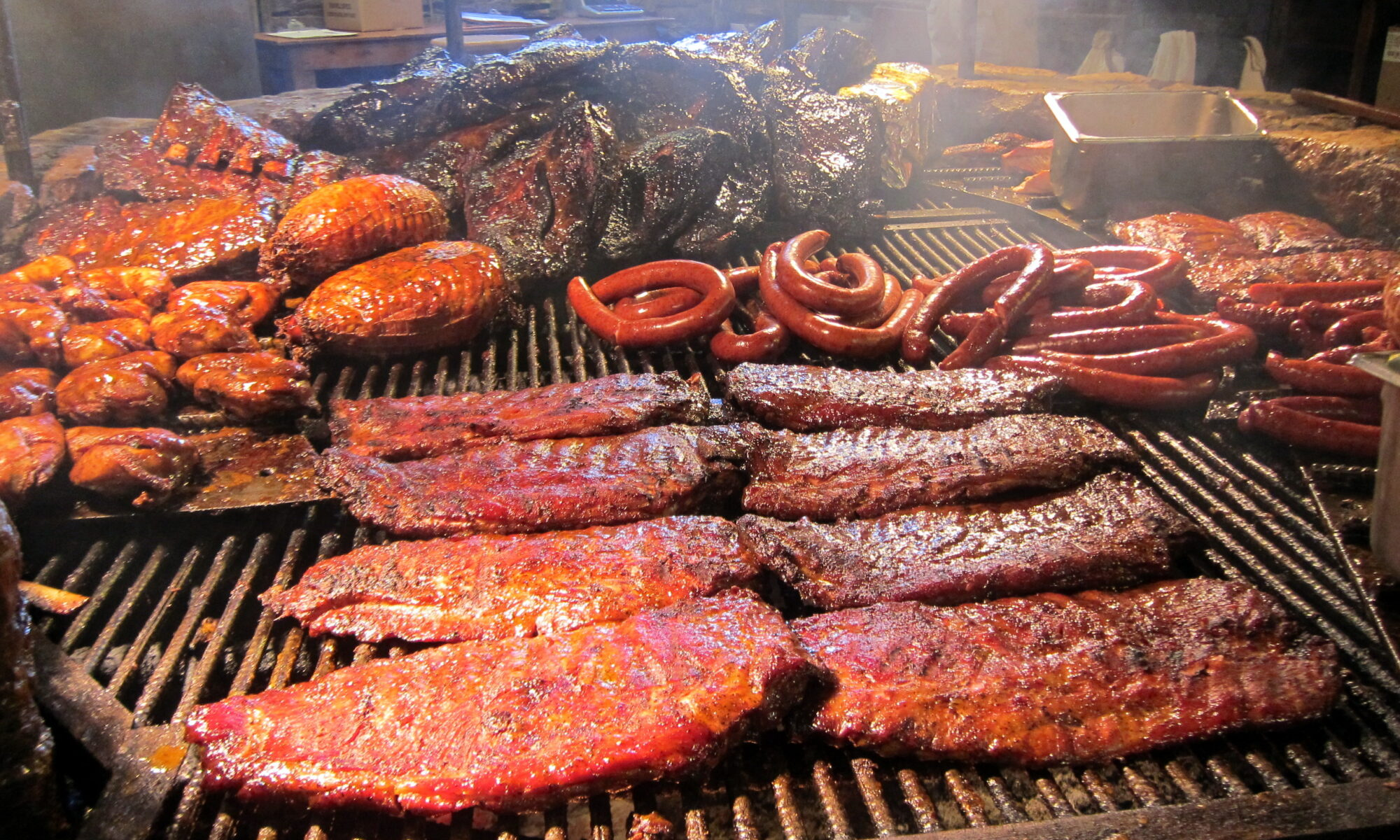 photo of barbecue food