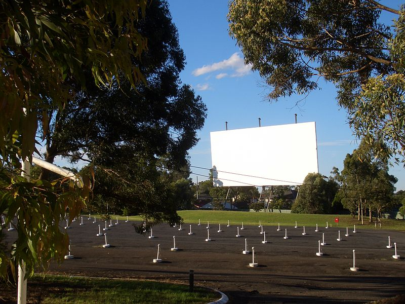 photo of drive in movies