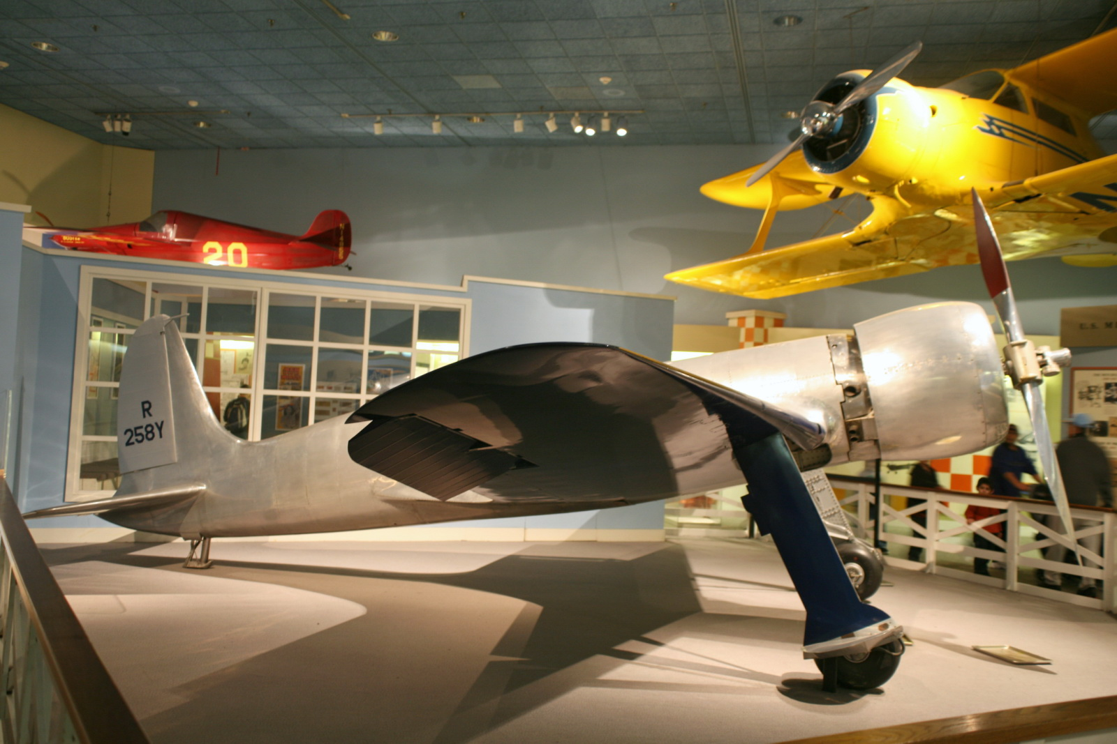 photo hughes h-1 racer