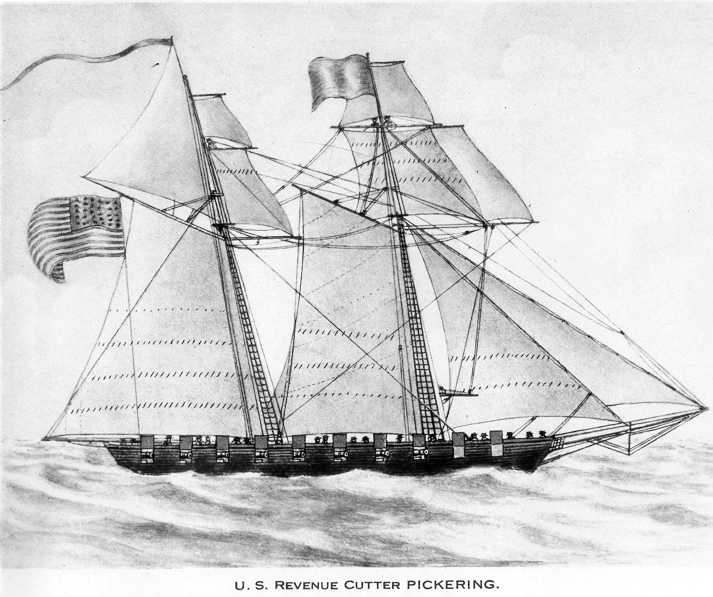 drawing of boat
