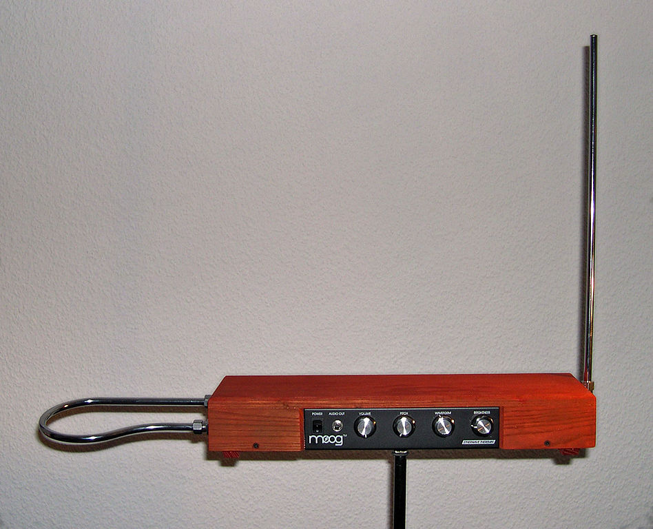 photo of theremin