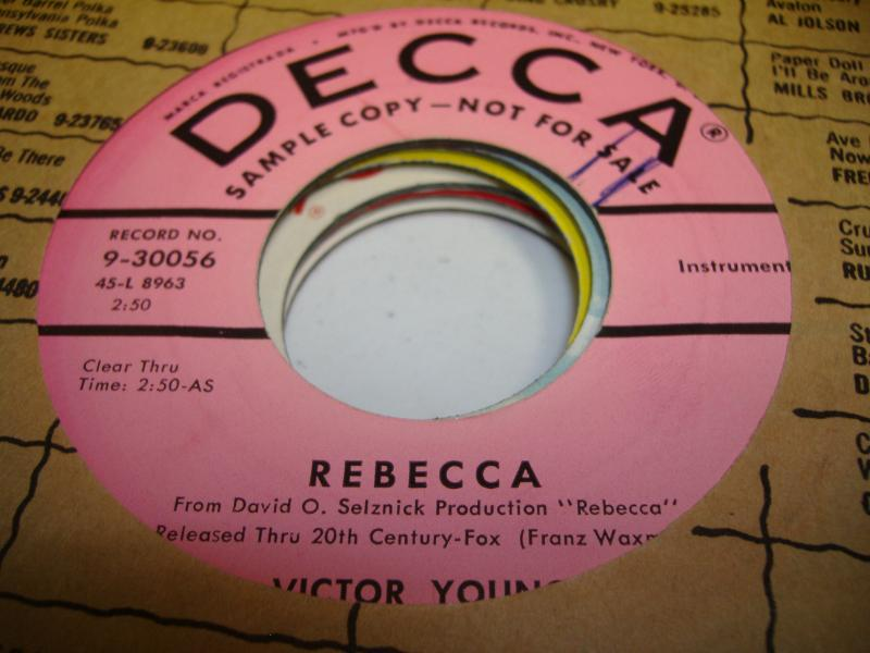 rebecca record photo