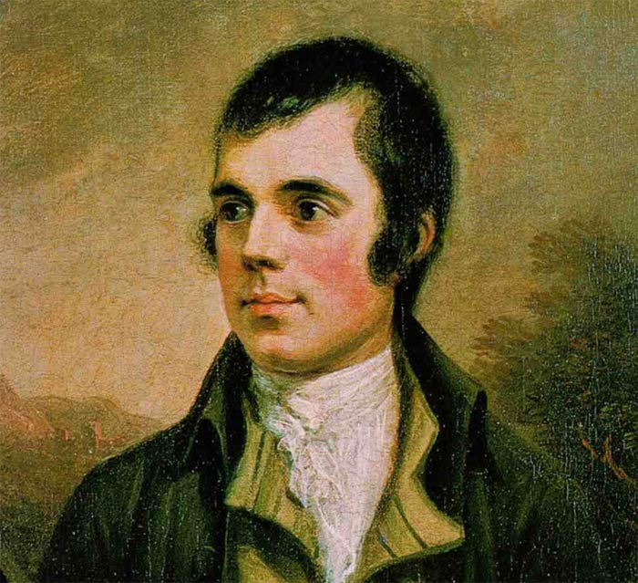 painting of robert burns