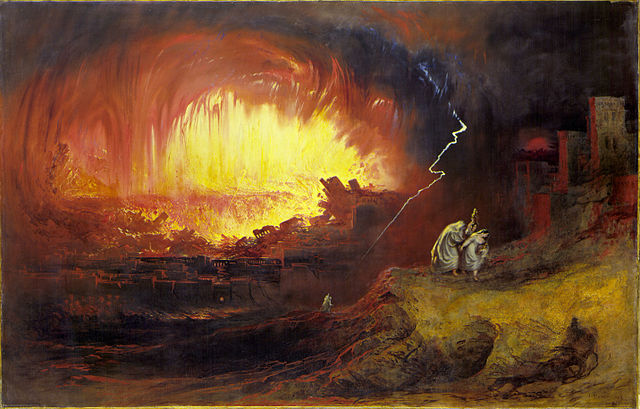 sodom and gomorrah painting