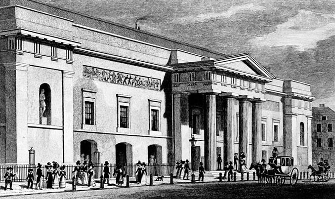 covent garden theater drawing