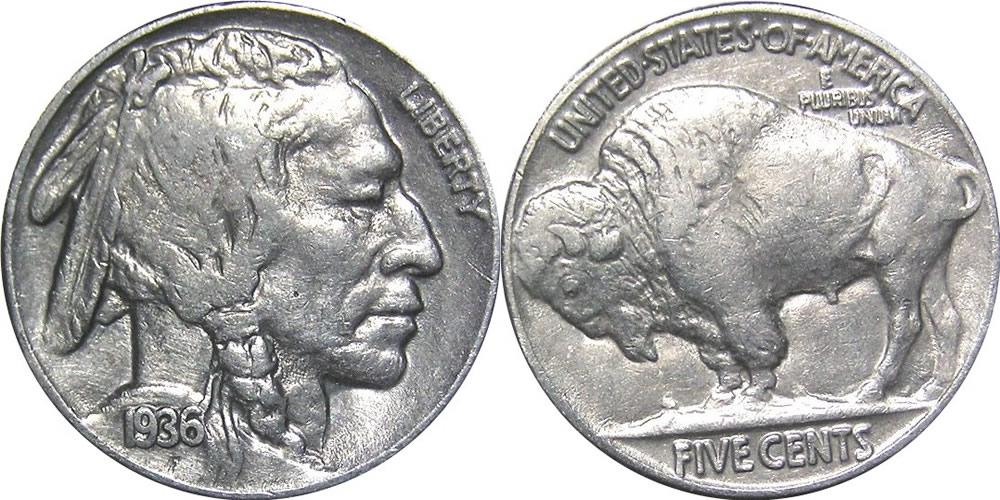 buffalo nickel photo