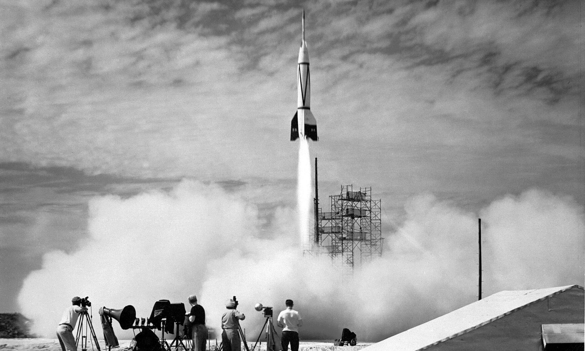 rocket taking off photo